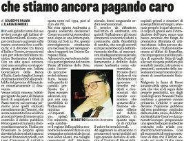 Banca d'Italia-Tesoro: il divorzio più caro della storia d'Italia
