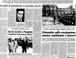 Il primo 11 settembre: il golpe cileno