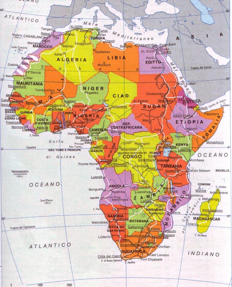 Africa Cartina Fisica E Politica.Debito Pubblico E Migrazioni Ilaria Bifarini